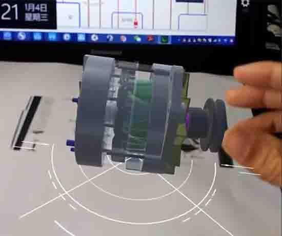 北汽电动机驱动器VR3D教学实训软件