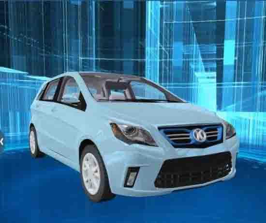 新能源汽车虚拟仿真理论课程系统
