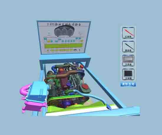 新能源汽车工作原理虚拟仿真教学软件