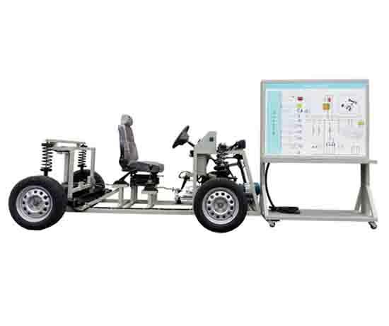 电动汽车轮毂电机理实一体实训台
