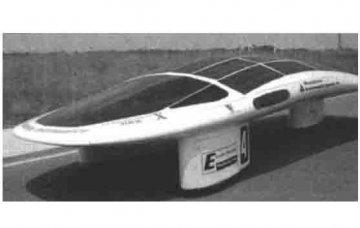 天津汽车专业教学设备:太阳能汽车的基本结构