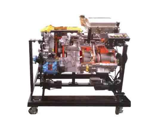 汽车动力及转动系统动态解剖运行台
