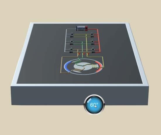 比亚迪电动机驱动器VR3D虚拟教学软件