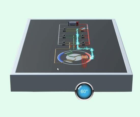 三相交流异步电机教学软件