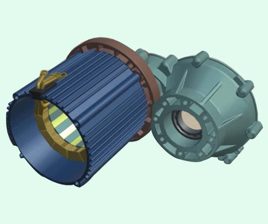 新能源汽车直流无刷电机VR3D教学软件