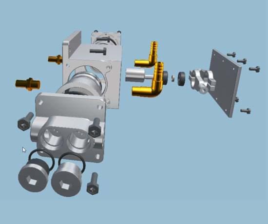 电动真空助力系统虚拟仿真教学软件
