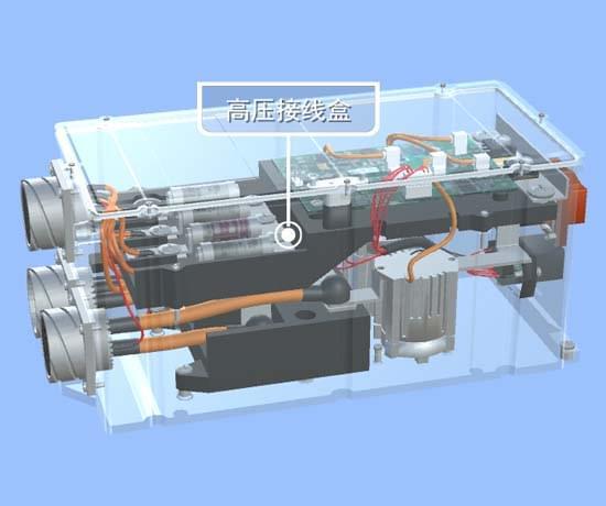 电动汽车高压配电VR3D教学实训软件