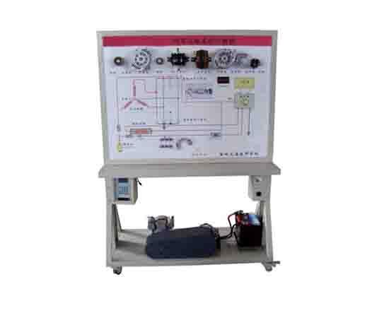 汽车充电系统示教板