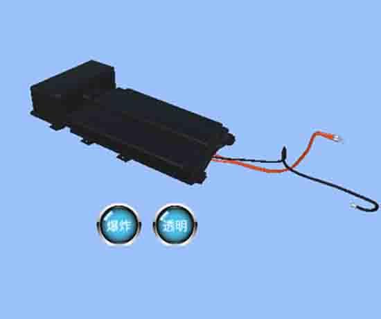 电动汽车动力电池虚实理一体教学软件