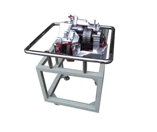 电动汽车电机解剖展示台