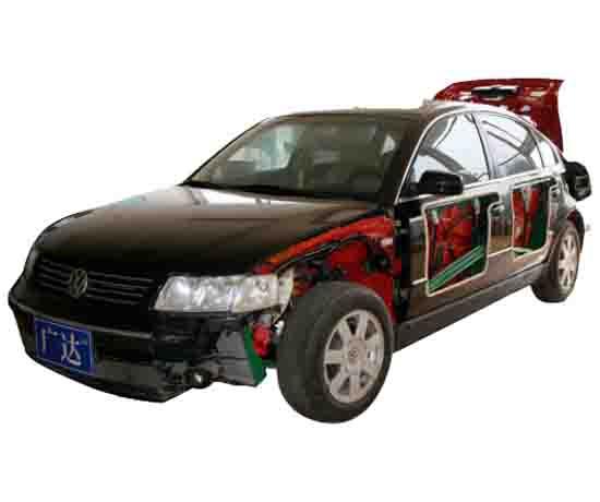 汽车整车解剖运行台