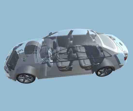 新能源电动空调系统虚拟仿真教学软件