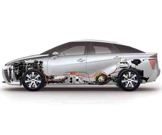 燃料电池汽车教学原型车