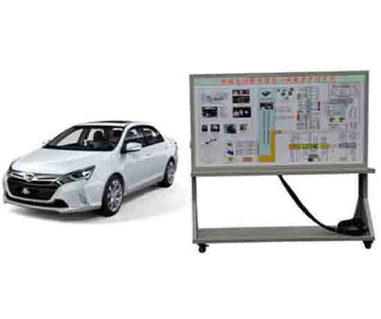 奇瑞电动整车理实一体教学实训系统
