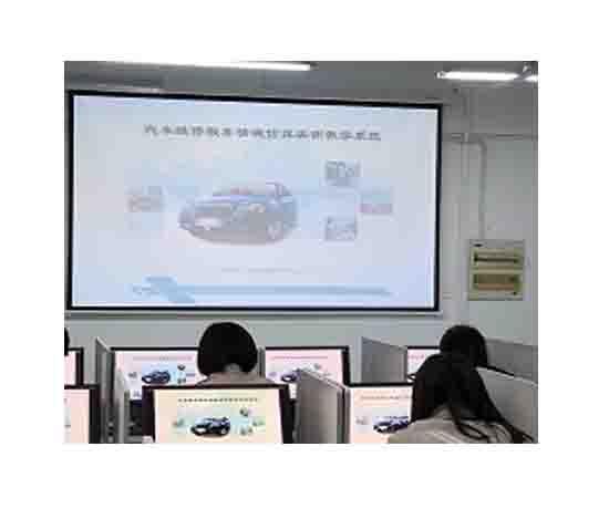 新能源汽车虚拟仿真实训室