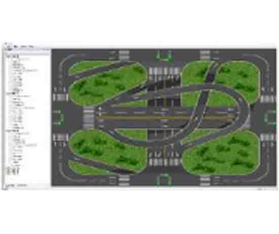 智能网联汽车教学研究实训考核设备