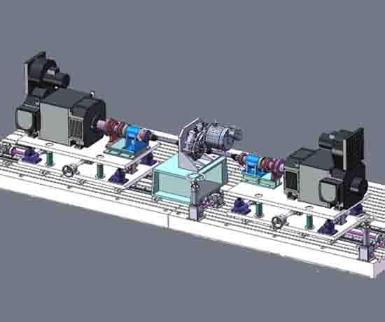 新能源汽车电驱桥试验台架