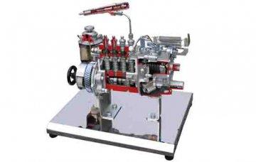 新能源汽车教学设备开发:高电压12V车载电气系统的联网