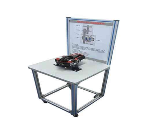 纯电动汽车电机与减速箱解剖展示台