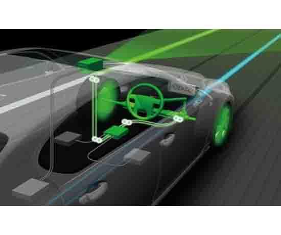 汽车辅助驾驶试验系统