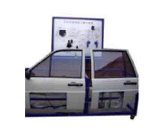 汽车电动窗中控检测示教板