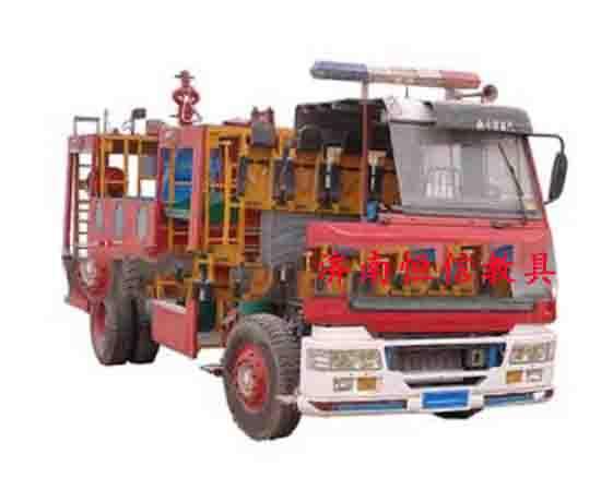 消防特种车辆整车训练平台