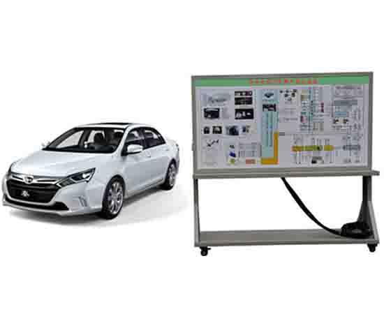 吉利电动汽车整车实训系统